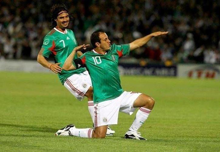 Cuauhtémoc Blanco tuvo grandes momentos durante su paso por la Selección de México. (record.com.mx)