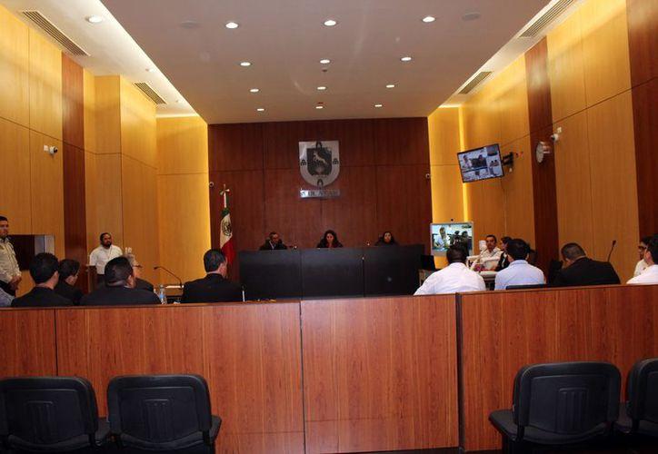 La audiencia fue realizada este jueves en el Centro de Justicia Oral de Mérida. (Archivo/Sipse)