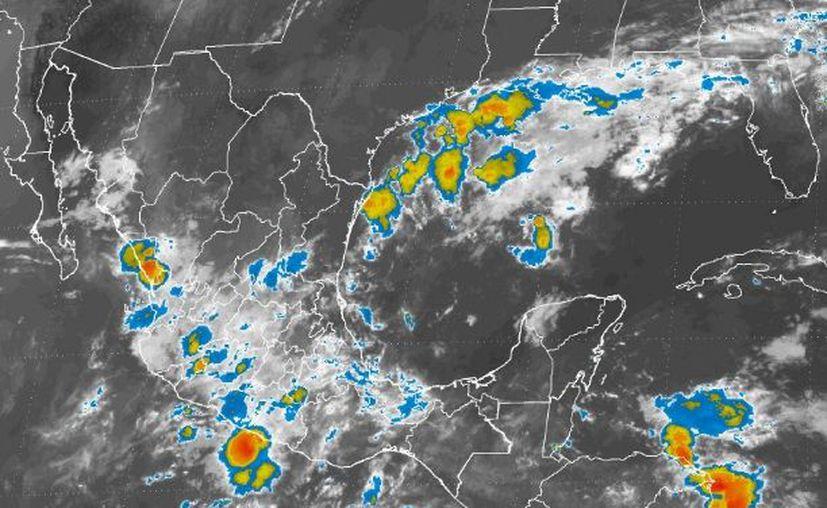 Es posible que se produzca una tormenta o chubasco dispersos en Chetumal. (Conagua)