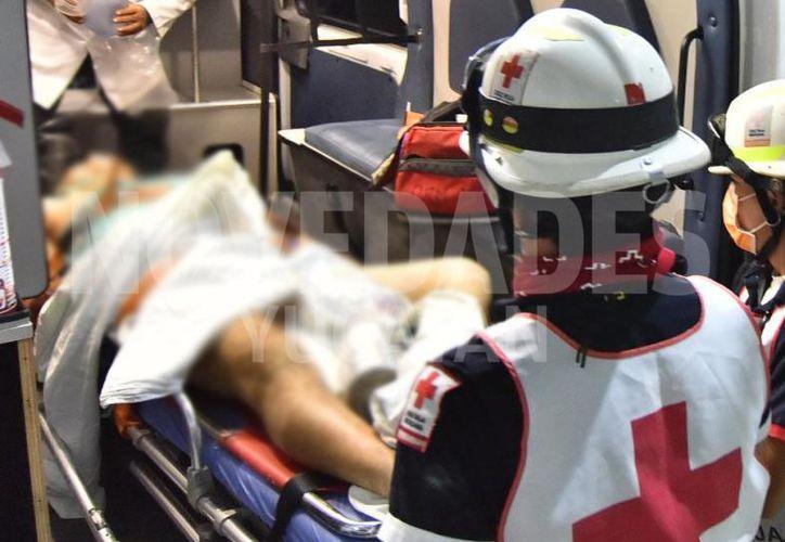 Jorge Solís fue trasladado al hospital del IMSS de la avenida Cobá en Cancún, pero no lo atendieron. (Novedades Yucatán)