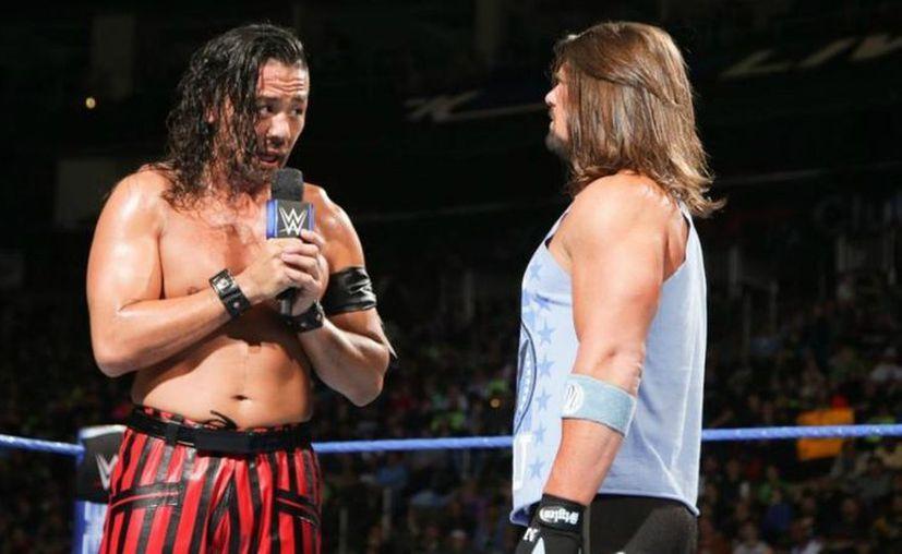 En el caso de Styles, es claro que WWE lo considera una de sus figuras más importantes. (WWE)