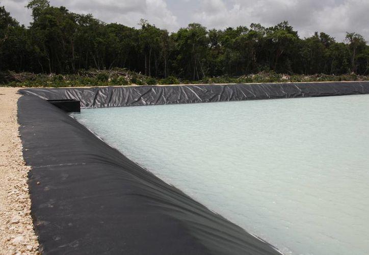 La primera celda tendría una superficie de 60 por 200 metros, es decir, 12 mil metros cuadrados. (Sara Cauich/SIPSE)