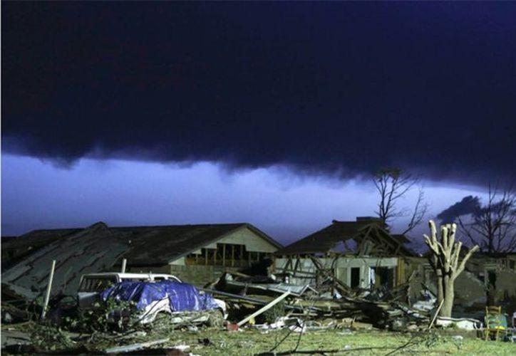 El devastador tornado fue uno de los más destructivos de los últimos años en Estados Unidos. (Agencias)