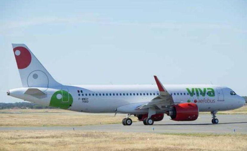 Un avión A320Neo de la empresa Viva Aerobús. (Foto: contexto Internet)