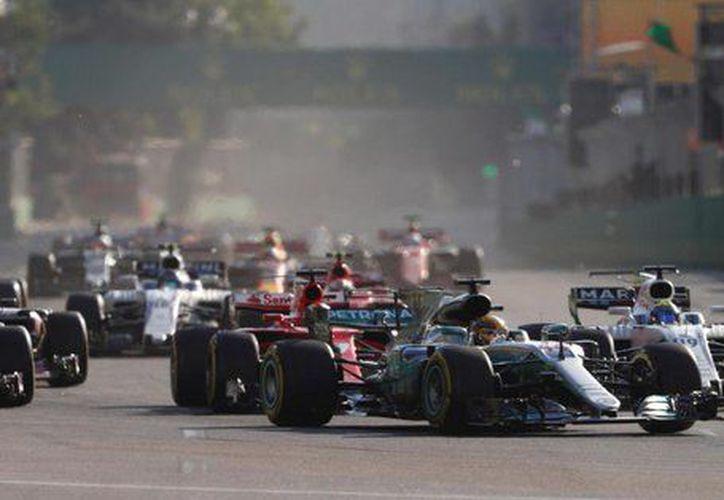 Pérez no pudo regresar a la pista debido al accidente. (formula1.com)