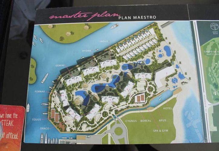 El plan maestro del desarrollo Novo Cancún fue presentado a Novedades de Quintana Roo. (Redacción/SIPSE)