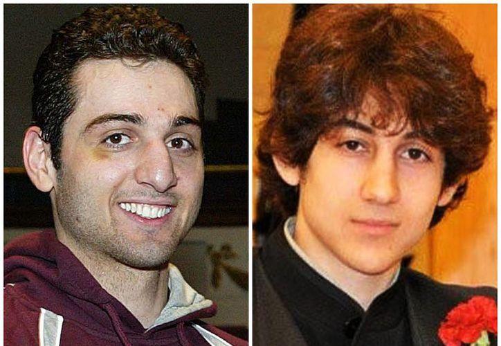 Esta composición fotográfica muestra a Tamerlan Tsarnaev, de 26 años (izquierda), y a Dzhokhar Tsarnaev, 19. (Agencias)