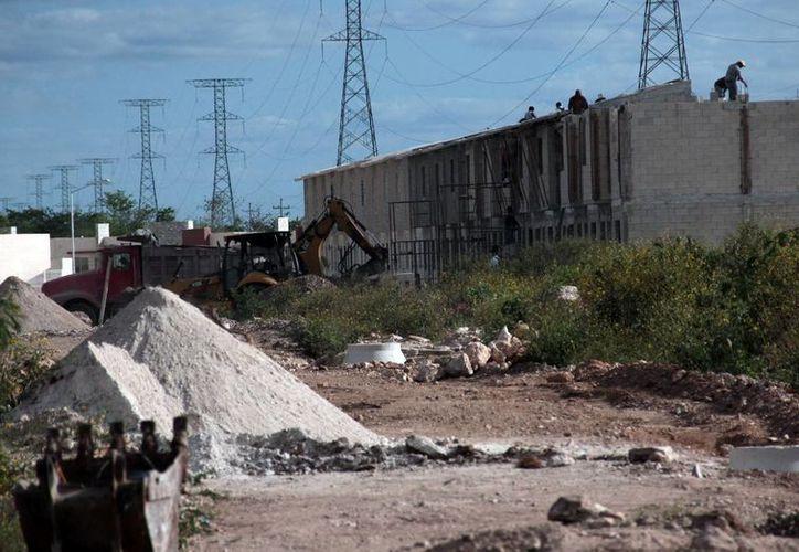 Durante los primeros 11 meses del año pasado, la principal derrama la tuvo la industria de la construcción. Imagen de contexto. (Milenio Novedades)