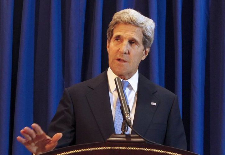 Kerry  no mencionó cuáles serán las bases de esta nueva fase de la negociación. (EFE)