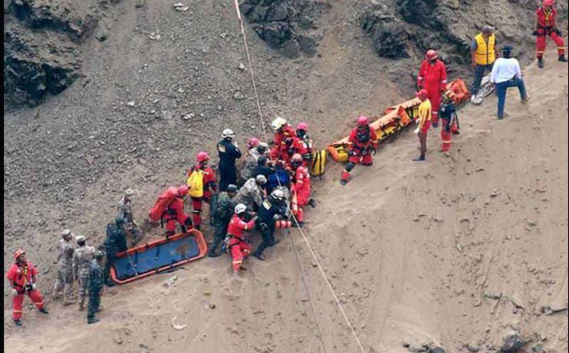23 muertos por accidente de bus en Los Andes