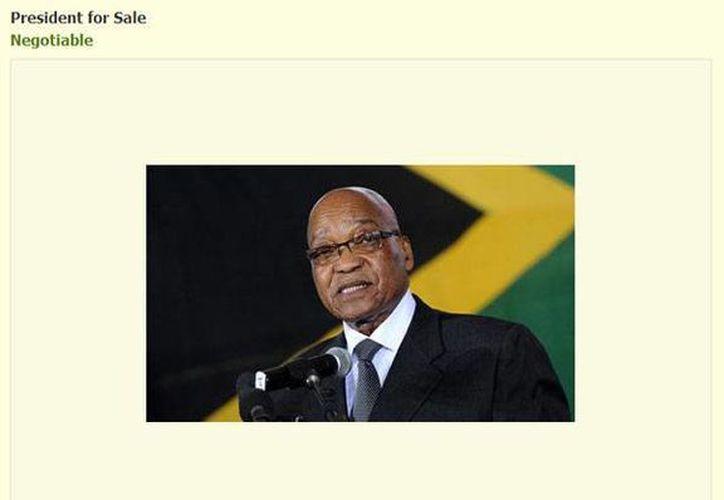 Zuma, de 72 años, fue reelecto Presidente el pasado mes de mayo. (gumtree.com)