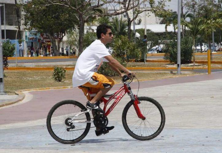 El recorrido en bicicleta se realizará por diferentes avenidas y calles de Cancún. (Contexto/Internet)