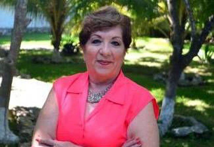 Alejandrina Escaroz Soler encabeza el grupo de psicoeducación 'Vivir en Plenitud'. (Milenio Novedades)