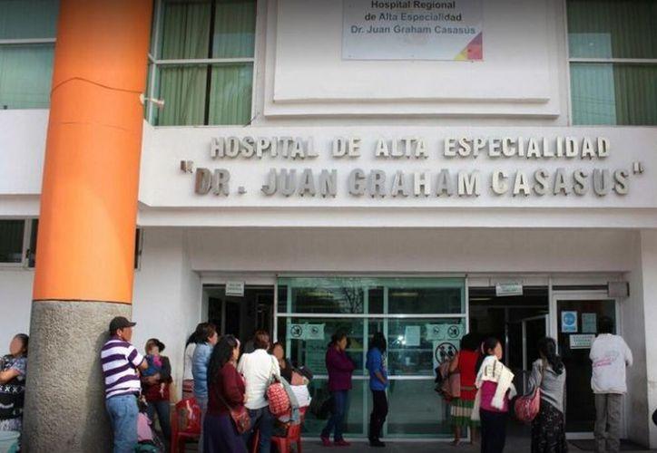 Tres personas han fallecido víctimas de una bacteria detectada en el Hospital de Alta Especialidad Juan Graham Casasús, en Villahermosa, Tabasco. (Google maps)