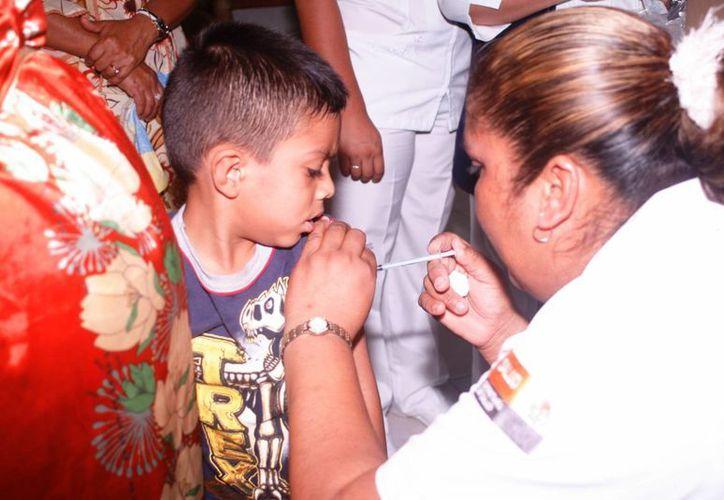 Se destinarán alrededor de 800 vacunas para niños menores de cinco años. (Javier Ortiz/SIPSE)