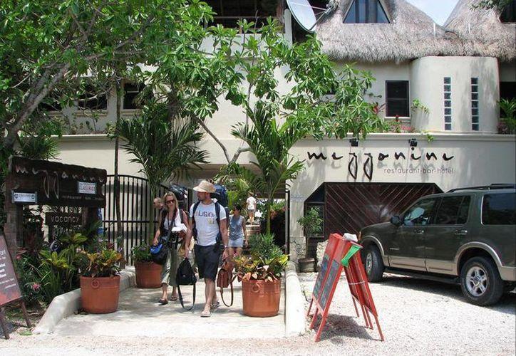 La ocupación actual en los hoteles del centro de Tulum se ubica en 30% en promedio.  (Rossy López/SIPSE)
