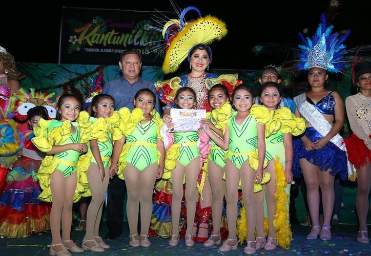 """La escuela de danza """"Alicia Alonso"""" ganó el primer lugar. (Raúl Balam/SIPSE)"""