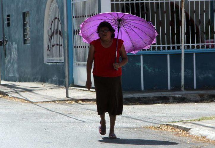 Este miércoles se registrarán temperaturas de calurosas a muy calurosas durante el día y templadas a cálidas al amanecer en Yucatán. según la Conagua. (SIPSE)