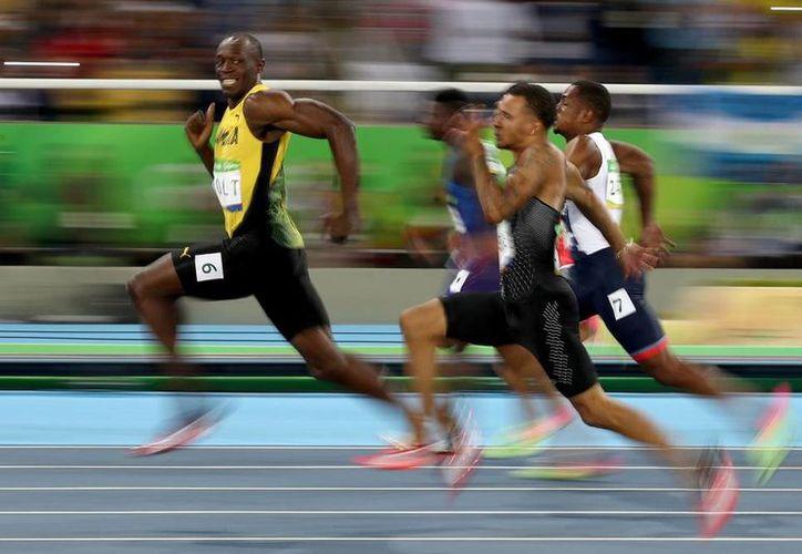 Usain Bolt midió su fuerza como velocista en gravedad cero. (Getty Images)