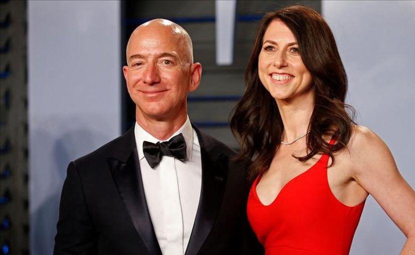 Mackenzie trabajó por años en el proyecto y aunque pudo obtener el 50 % de la compañía, llegó a un acuerdo con Bezos. (Reuters)