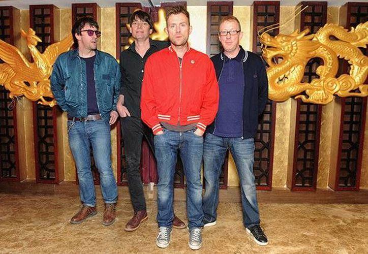 Blur grabó la primera edición del álbum en 1991, posicionándose como uno de los preferidos del público.(EFE)