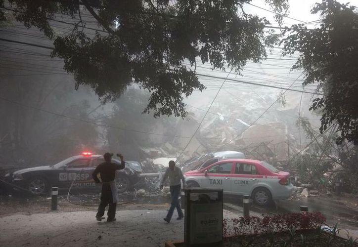 Diversos estados sufrieron afectaciones tras el sismo registrado durante la tarde de hoy. (El Financiero).