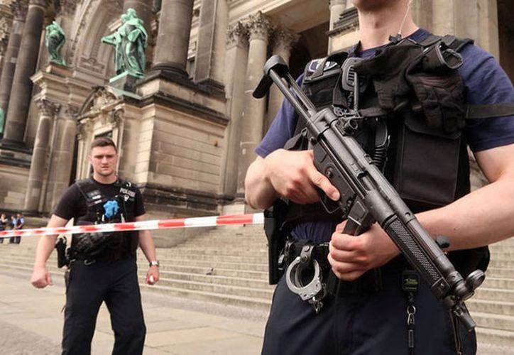 Un policía ha abierto fuego este domingo contra un hombre en la catedral de Berlín. (Reuters)