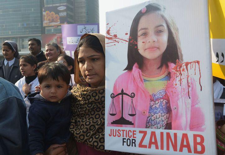 El caso del asesinato de Zeinab Amin, una niña de siete años, conmocionó a Pakistán. (Foto: Time)