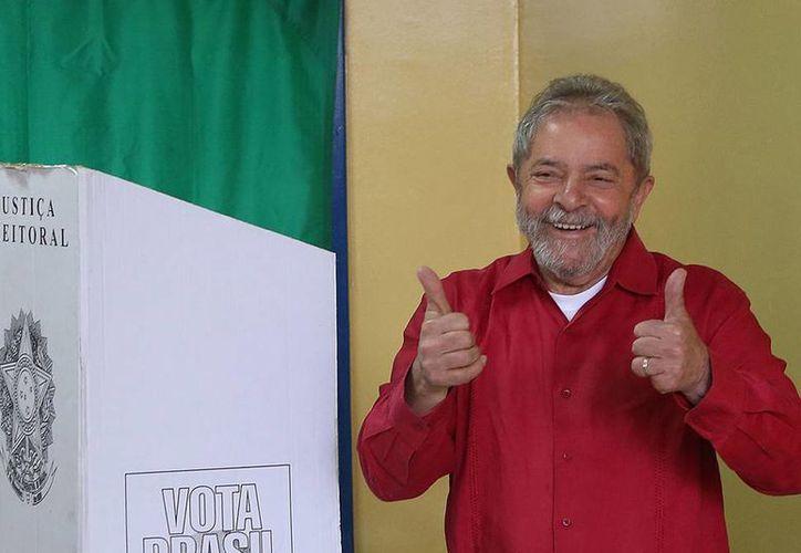 Lula da Silva se comprometió hasta el fondo a favor de Dilma Rousseff en el proceso para lograr que repitiera en la Presidencia de Brasil. (Notimex)