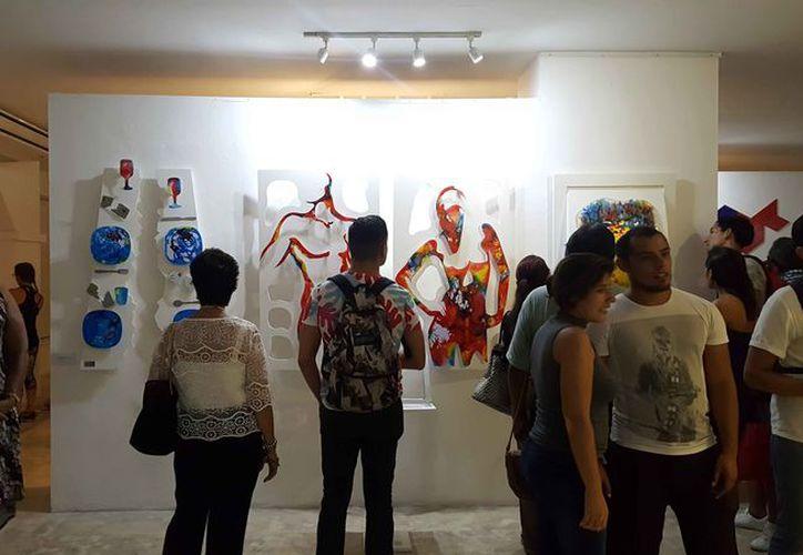 Las obras permanecerán en la galería principal del Centro Cultural de las Artes, hasta el 31 de agosto. (Jocelyn Díaz/SIPSE)