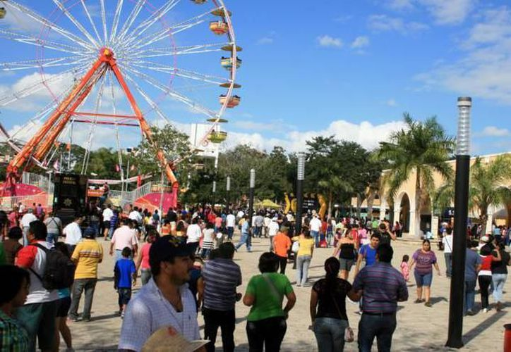 En total son tres etapas las que consta la modernización de la Feria Yucatán en Xmatkuil. (Milenio Novedades)