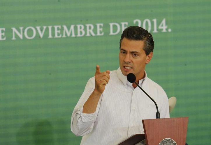 Hasta ahora sólo una parte de la declaración patrimonial del presidente Enrique Peña Nieto es pública. (Notimex)