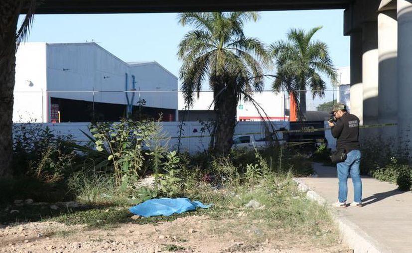 El hallazgo del cuerpo movilizó a las autoridades ayer miércoles. (SIPSE)