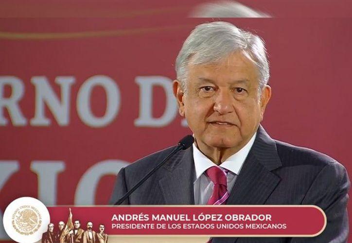 López Obrador comentó que este viernes visitará el norte de Nayarit . (Excélsior)