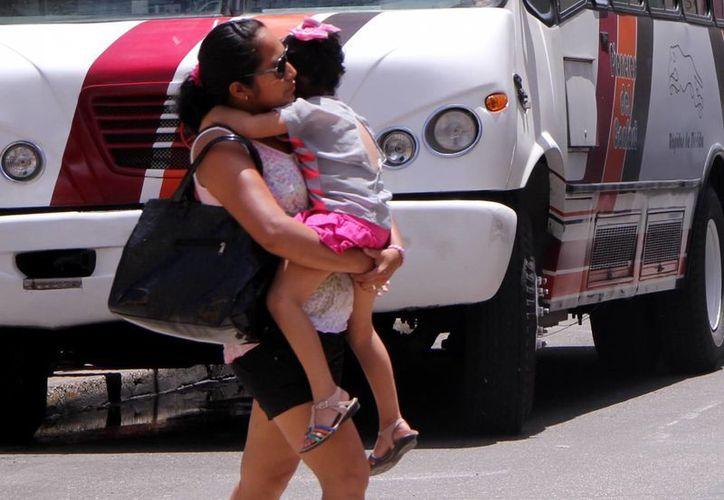 El calor y el brillante sol se mantienen en Yucatán. (José Acosta/SIPSE)