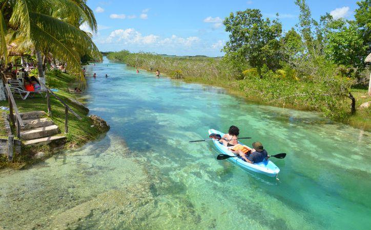 'Los Rápidos' es un lugar ideal para hacer kayak en sus hermosas agua cristalinas. (Foto: Eddy Bonilla)
