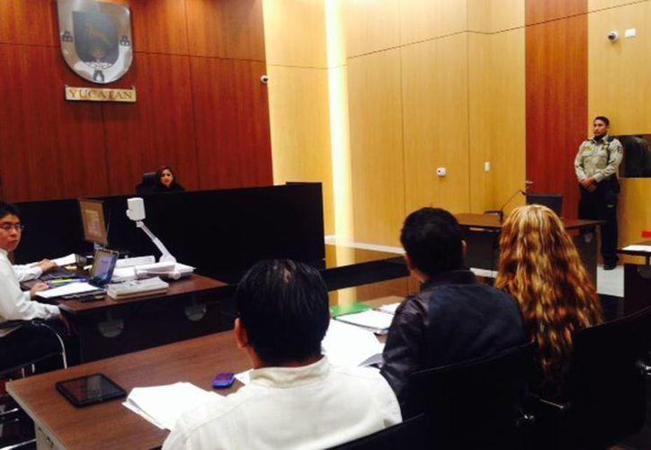 La audiencia de vinculación a los inculpados del robo al chofer de autobús grabado en video, se realizó este viernes en el juzgado 2º de control de esta capital. (Cortesía)