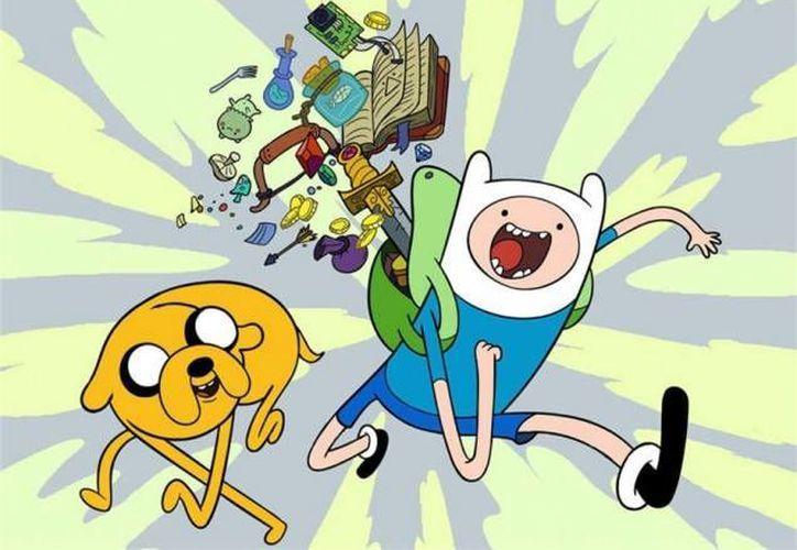 """La caricatura ha adquirido mucha popularidad gracias a sus protagonistas """"Finn"""" y """"Jake"""". (horadeaventura.com)"""