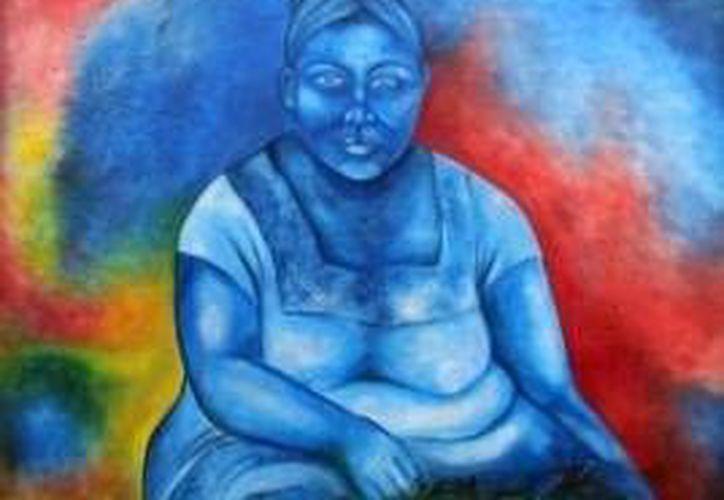 """La obra """"Vendedora de frutas"""" se exhibirá en el Museo de la Cultura Maya en Chetumal. (Redacción/SIPSE)"""