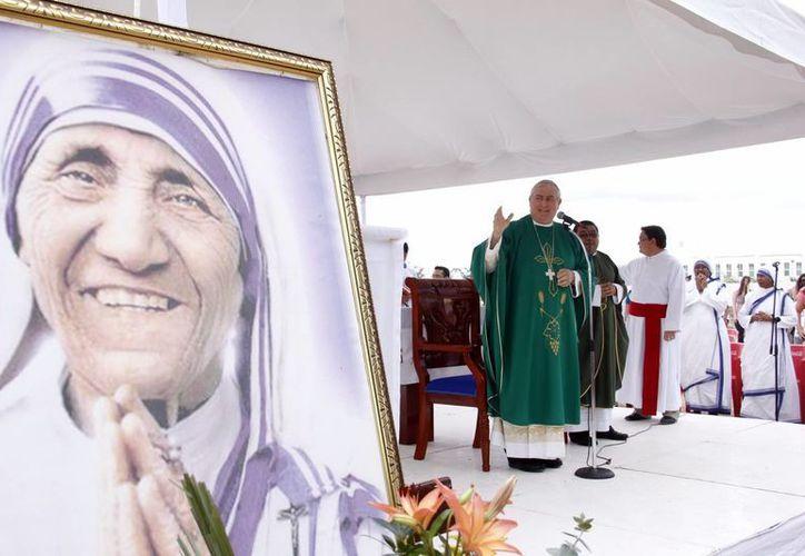 La nueva sede parroquial está dedicada a la Beata Teresa de Calcuta. (Juan Alborzno/SIPSE)