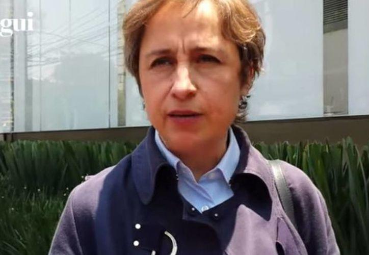 Carmen Aristegui y los representantes de MVS sostendrán otra reunión el próximo jueves. (Captura de pantalla/YouTube)
