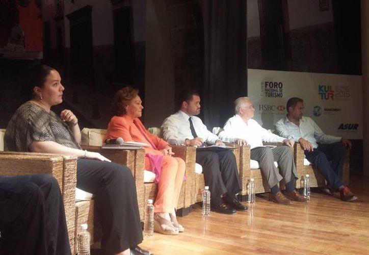 Durante el cierre del evento se destacaron aspectos relevantes de la gastronomía. (Claudia Olavarría/SIPSE)