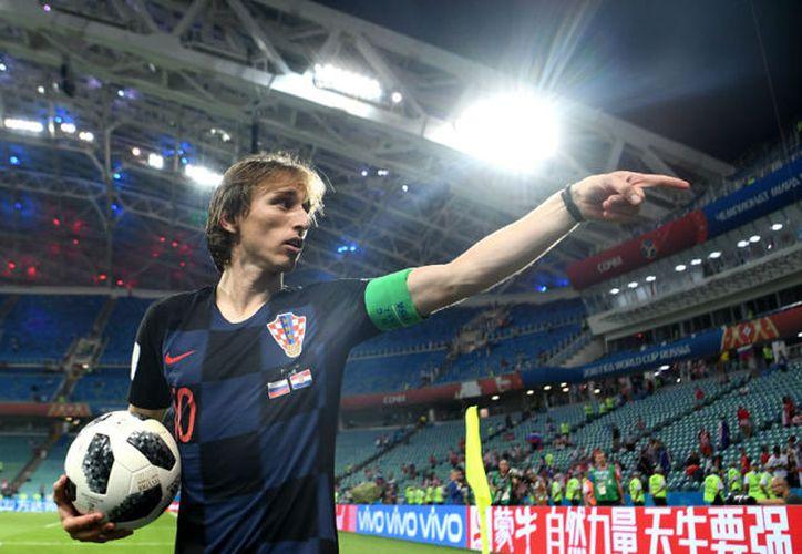 Luka Modric delantero croata con mágico triunfo en Rusia 2018. (Foto: Antena 3)