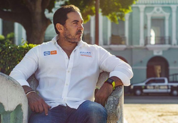 Julián Zacarías Curi, alcalde electo de Progreso entrará en función el próximo 1 de septiembre. (Milenio Novedades)