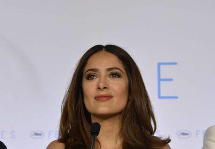 """Salma Hayek fue postulada en la categoría mejor cinta animada independiente por su producción """"Kahlil Gibran's The Prophet"""". (Notimex)"""
