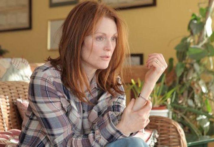 Julianne Moore ya ha barrido en diferentes premiaciones por su papel en 'Still Alice'. (hollywoodreporter.com)