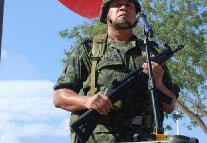 Diversas corporaciones policíacas de la entidad, incluido el Ejército y Armada garantizarán la seguridad de un poco más de 15 mil personas. (Harold Alcocer/SIPSE)