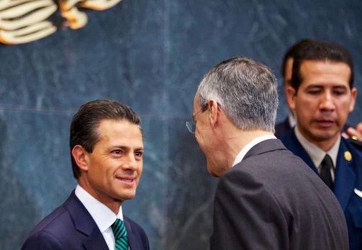 Peña Nieto dijo que es momento de asegurar que las reformas se conviertan en facilitadoras del desarrollo. (Presidencia de la República)