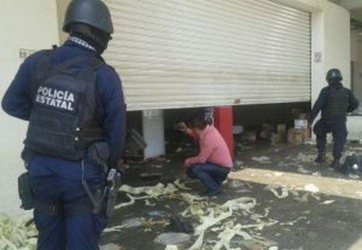 La Policía del Estado y elementos de Gendarmería verificaron los hechos. (excelsior.com)