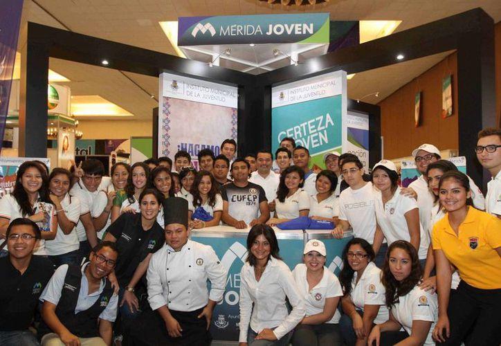 El Instituto Municipal de la Juventud realiza diversas acciones para crear conciencia entre los jóvenes meridanos. (Cortesía)